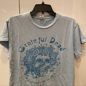 Grateful Dead light blue madeworn